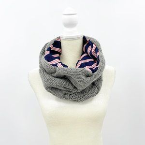 Brooks Brothers Cable Knit Lambswool Cowl Scarf
